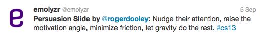Twitter Dooley Persuasion