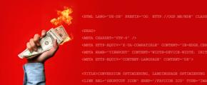 So verbrennt Ihr HTML Code >1 Mio € Umsatz pro Jahr