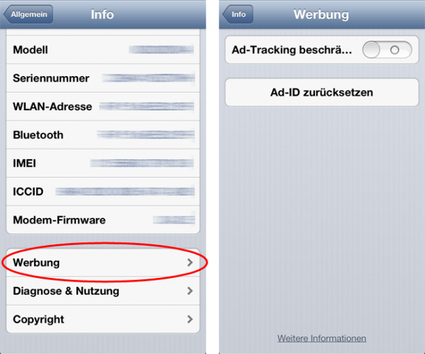 iOS 6 Ad-Tracking