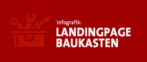Infografik Landingpage Baukasten