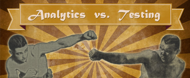 Analytics vs. Testing - Welches Tool lügt?