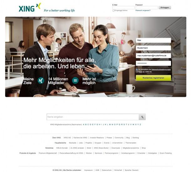 Vorhersagen bei Xing
