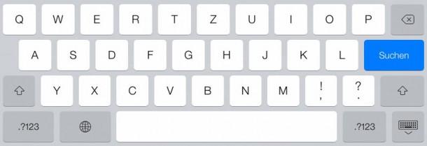 iPad Input Type text