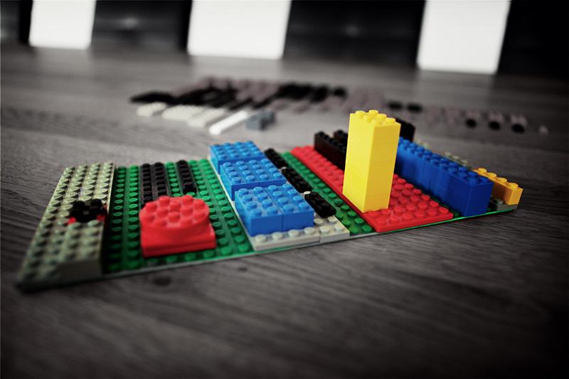 Maximale Agilität mit LEGO-Wireframing