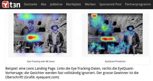 Eyetracking versus Simulation