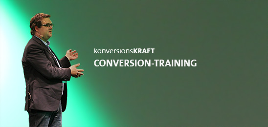 Conversion-Training - Optimize for Growth Seminar