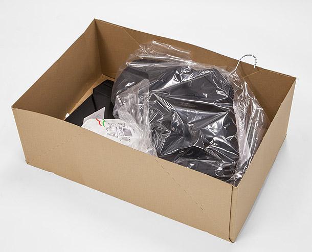 zu grosse Box
