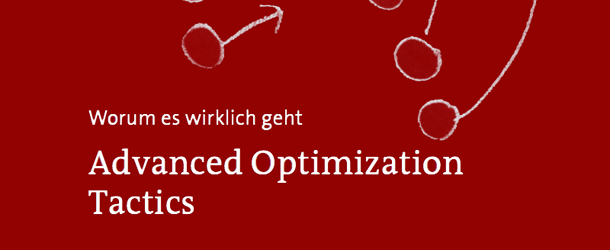 conversion eBook: Advanced Optimization Tactics (108 Seiten)