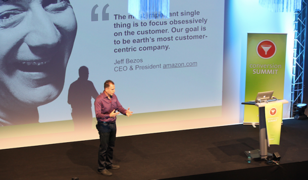 Bryan Eisenberg erklärt den Kundenfokus bei Amazon