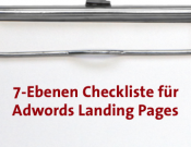 7 Ebenen Checkliste Adwords Landingpages