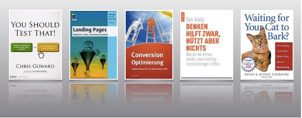 Conversion-Optimierung Bücherpaket