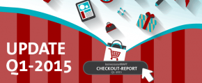 Infografik: Checkout-Report Q1-2015 (Update)