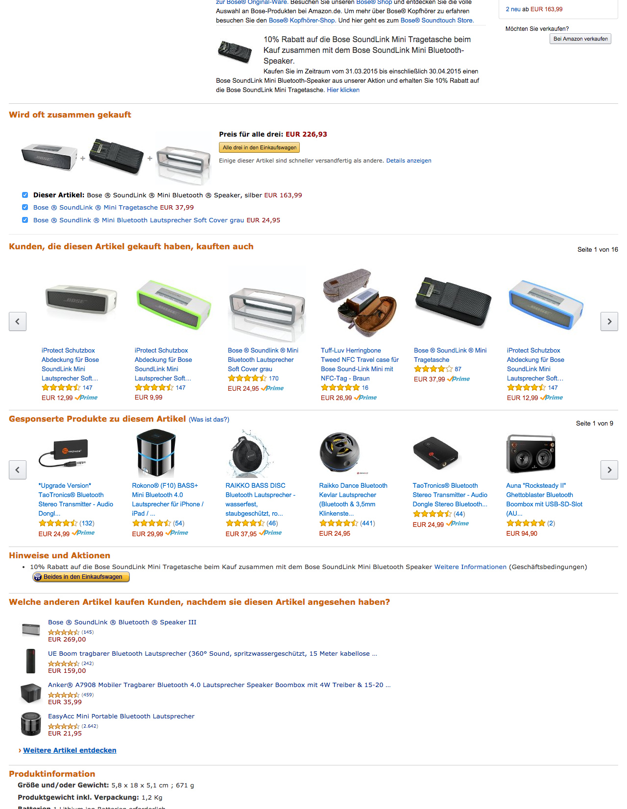 amazon cross selling
