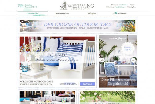 westwing homepage
