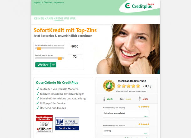 screenshot-angebot creditplus de 2015