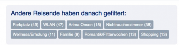 Herding bei booking.com