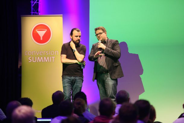 Scott Stratten & André Morys conversionSUMMIT 2015