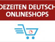 Ladezeit deutscher Onlineshops