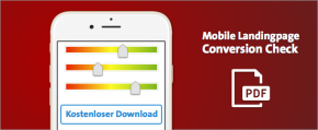 Download: der Conversion Check für mobile Landingpages
