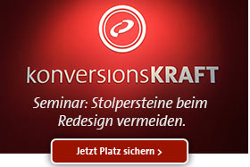 konversionsKRAFT - Redesign Training 2015