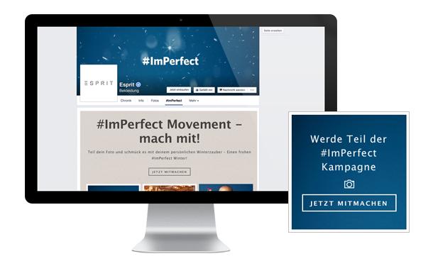 Social Media Kampagne von ESPRIT