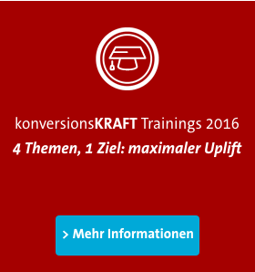 konversionsKRAFT - Conversion Manager Training