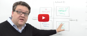 Conversion Whiteboard Episode 3: Das 4-Felder-Modell des A/B-Testings