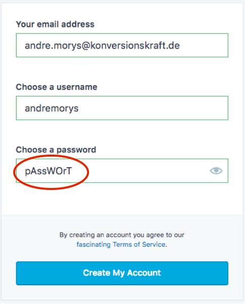 Tipp 17 Passwort sichtbar