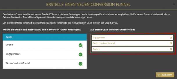 Funnel analysieren