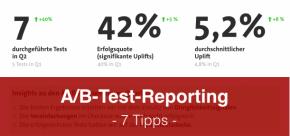 7 Expertentipps für überzeugendes A/B-Test-Reporting an Stakeholder