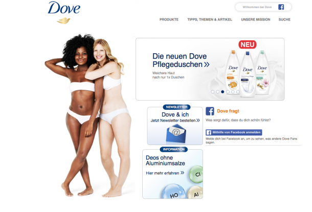 Neuromarketing-Tipp 8 -Dove