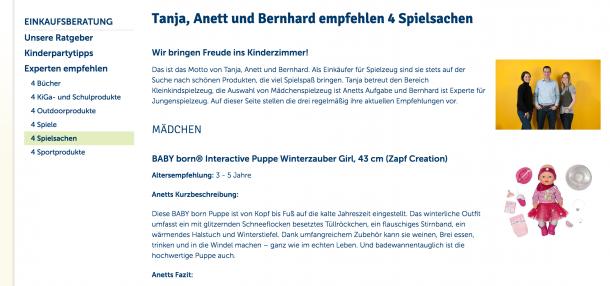 Autorität auf Mytoys.de