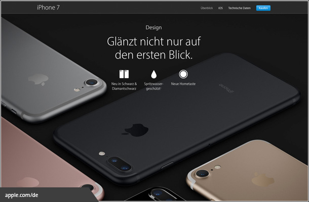 Curiosity bei Apple