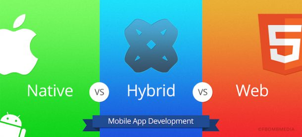 Native vs. Hybrid vs. WebApp
