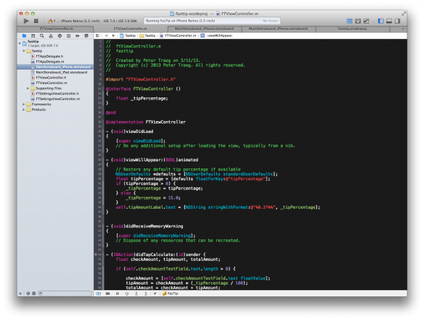 iOS App Programmierung in Apple Xcode