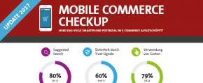 Infografik: Mobile Commerce Deutschland - TOP 100 Shops im Benchmark