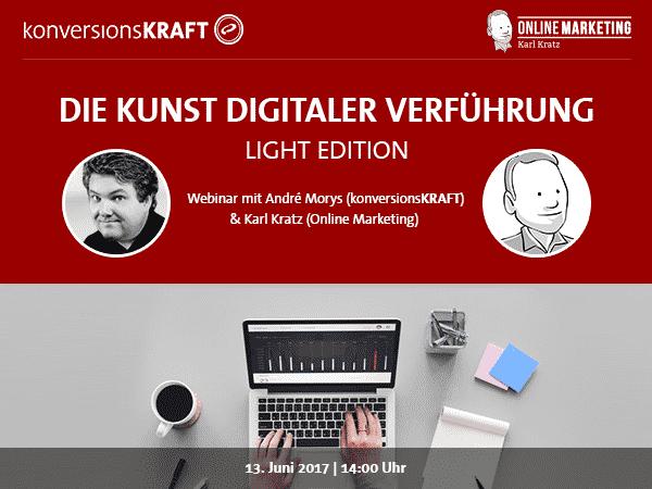 Webinar Karl Kratz