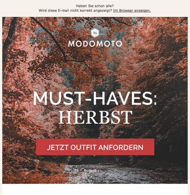modomoto Newsletter