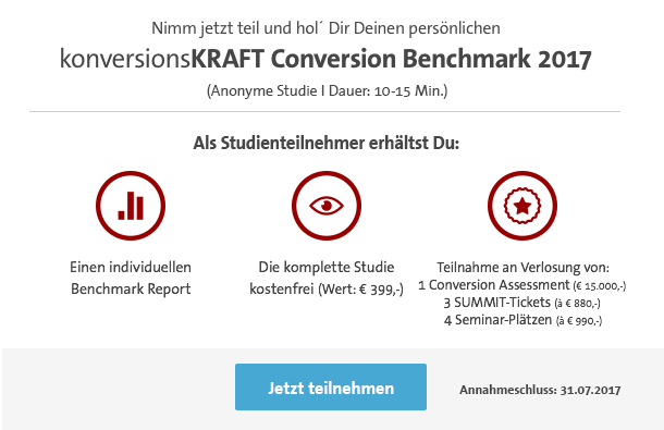 konversionsKRAFT Conversion Benchmark