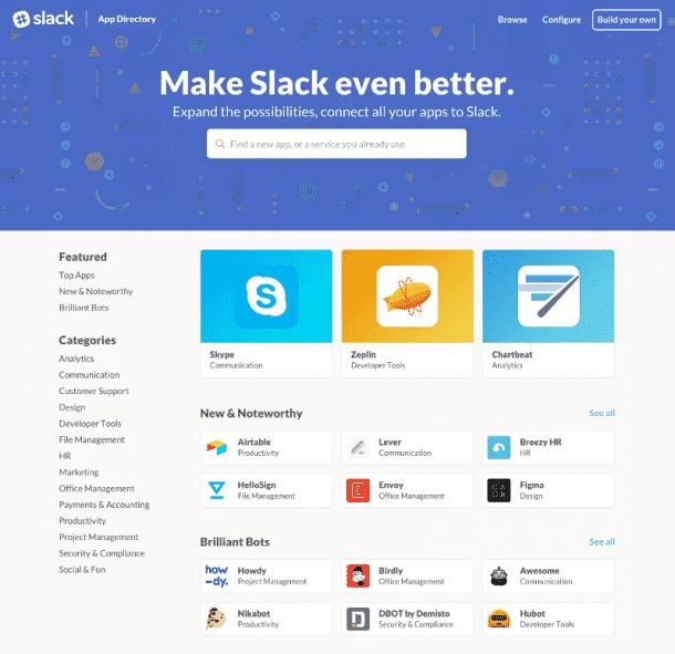 Slack AppStore