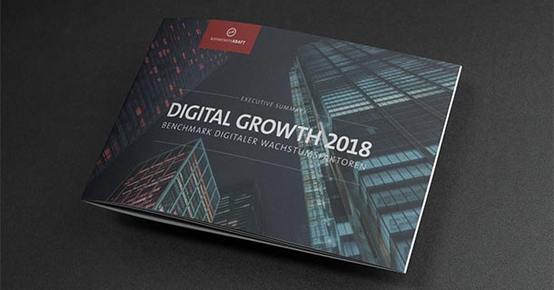 Digital Growth 2018: Benchmark digitaler Wachstumsfaktoren