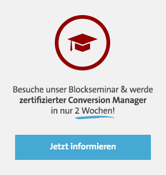 Conversion Manager Blockseminar