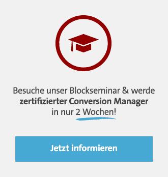 Conversion Manager Blockseminar