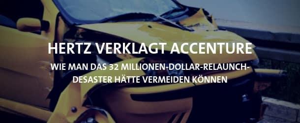Hertz verklagt Accenture