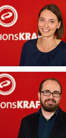 Autoren Jenny Morys und Stefan Mayer