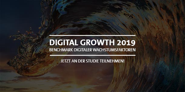 Studie: Digital Growth 2019 - Jetzt teilnehmen!