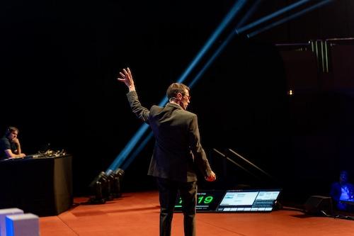 Craig Sullivan auf der Bühne beim #gms19
