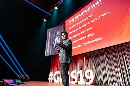 Eric Ries auf dem growth marketing SUMMIT 2019
