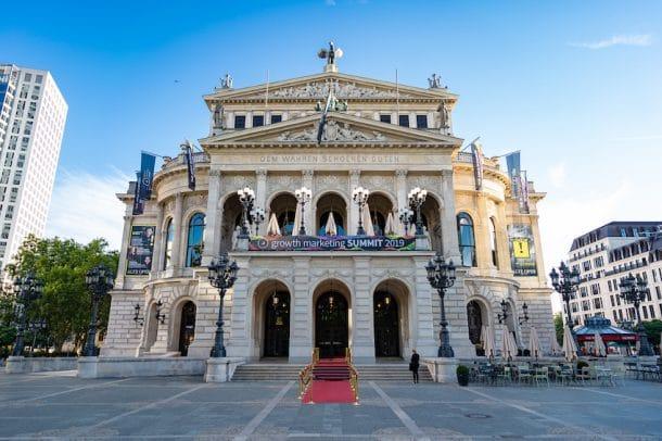 Die Alte Oper in Frankfurt/Main im gms-Look