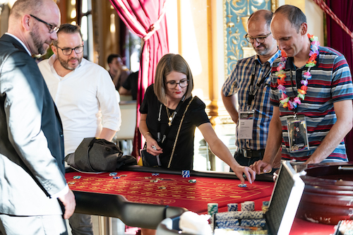 Roulette auf dem growth marketing SUMMIT 2019
